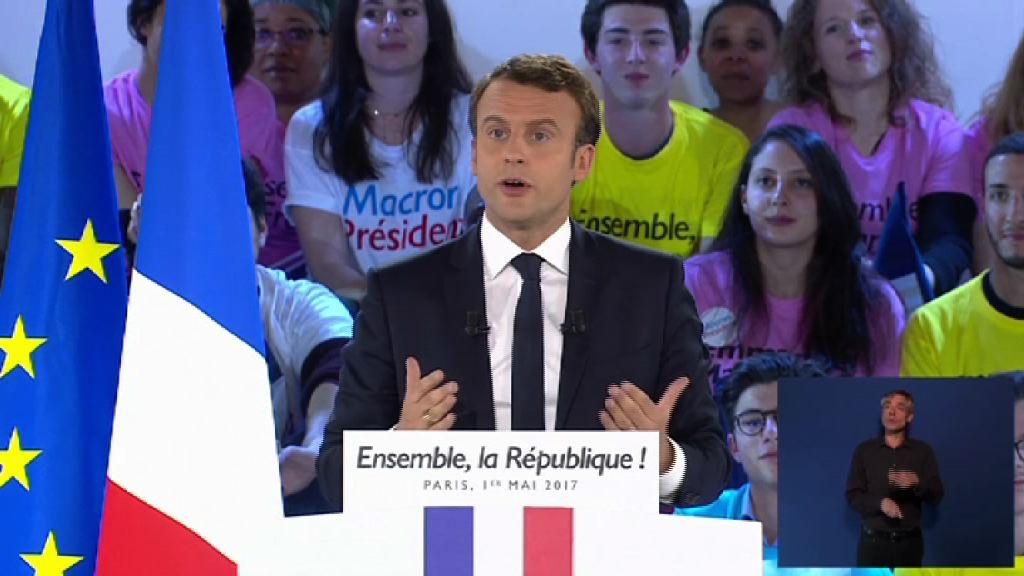 法國總工會對支持馬克龍有保留