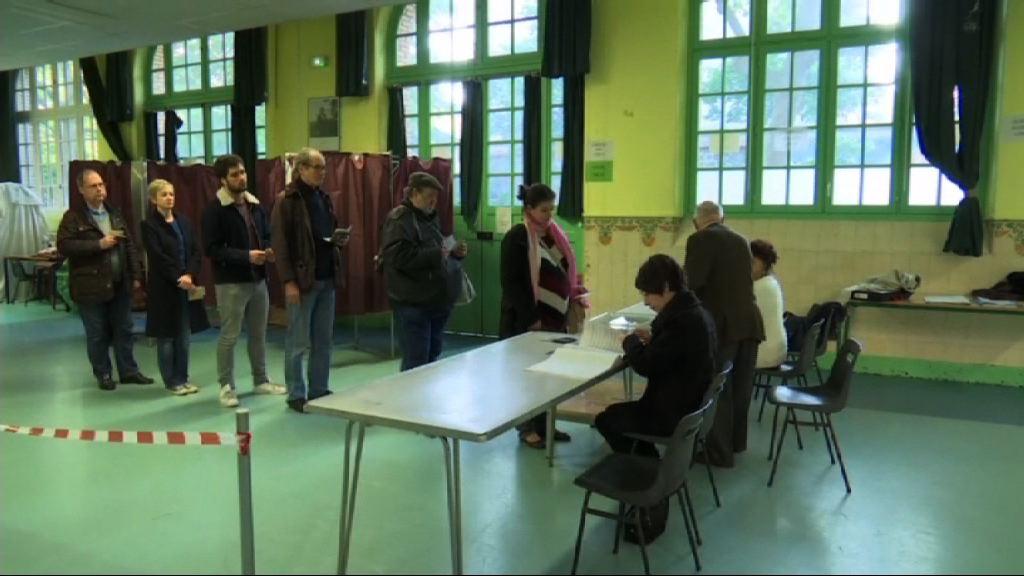 法國大選投票展開 選舉關乎歐盟前途