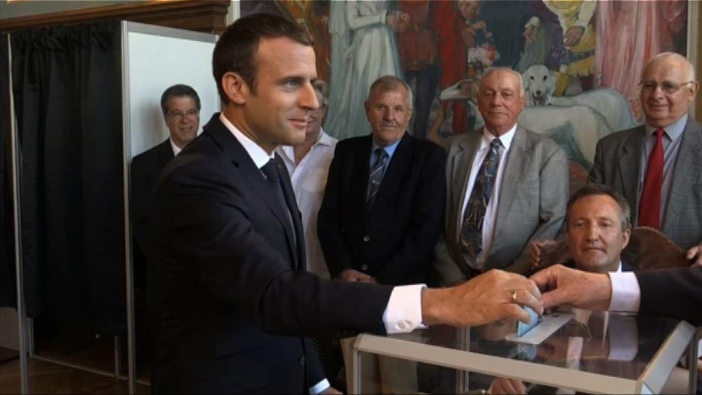 法國國民議會選舉料共和前進黨大勝