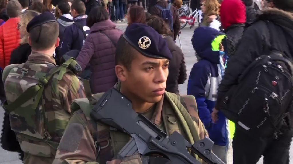 法國選舉前恐襲 出動逾五萬軍警加強保安