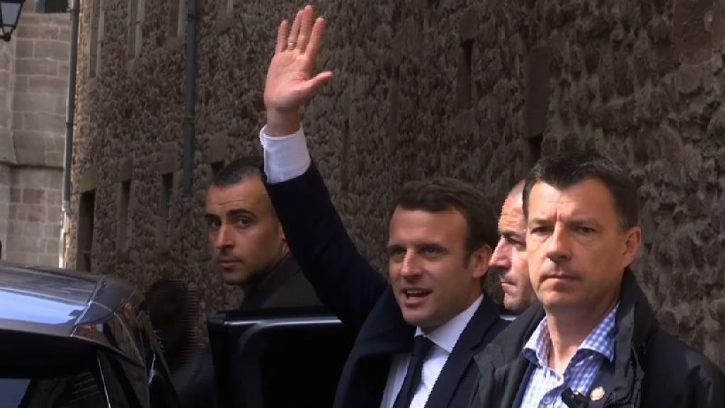 法國總統選舉 民調指馬克龍可獲逾六成選票