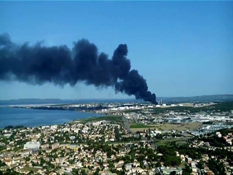 法國證實石化基地爆炸屬攻擊