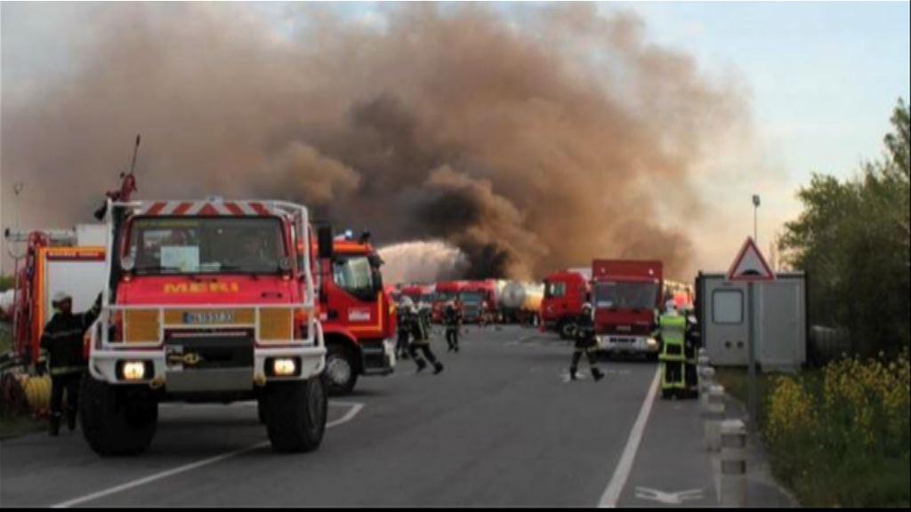 法國波爾多附近工業區發生爆炸