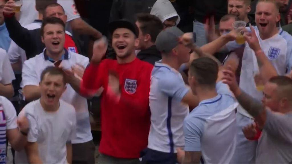 歐國盃「英國打吡」未出現球迷衝突