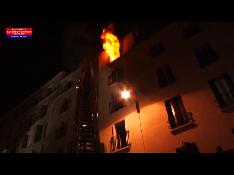 巴黎北部住宅大廈大火八人死