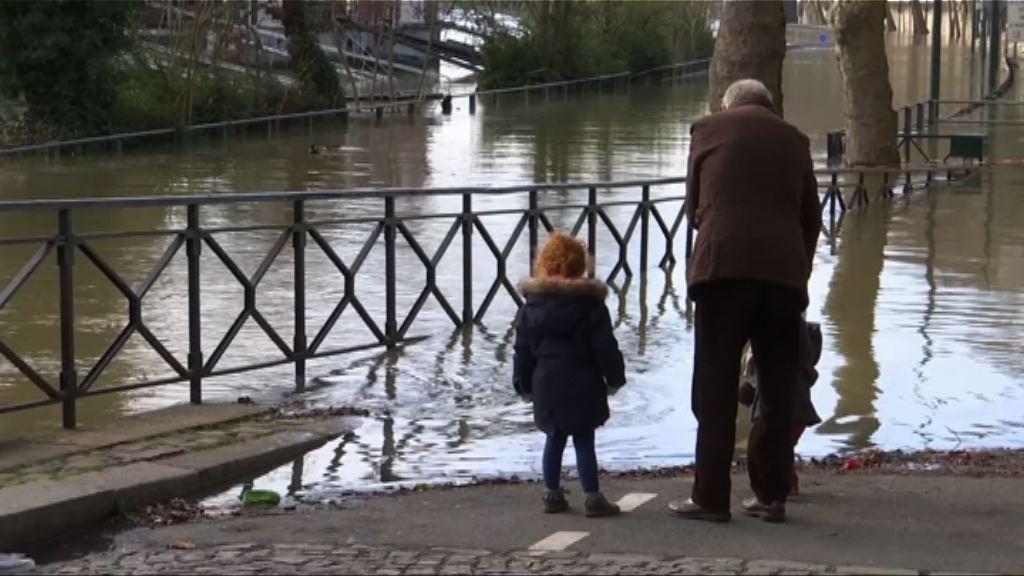 法國巴黎水浸部分設施要關閉