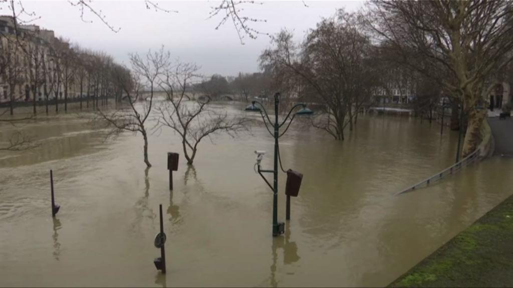 法國續受水浸影響 多處交通受阻