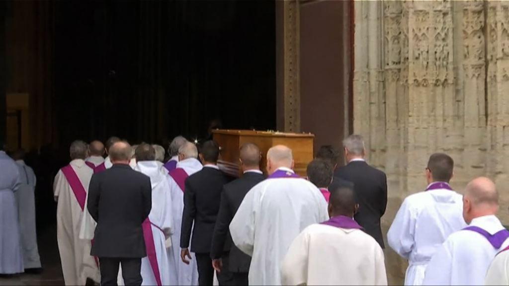 法國教堂襲擊案遇害神父舉殯