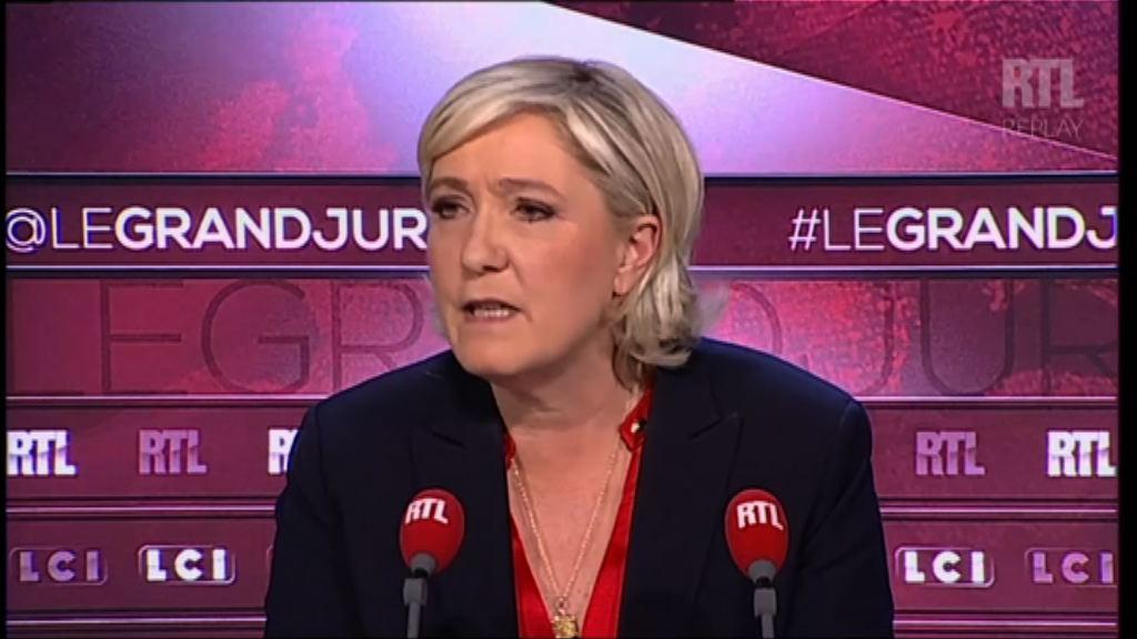 瑪麗勒龐稱法國不用為圍捕猶太人負責