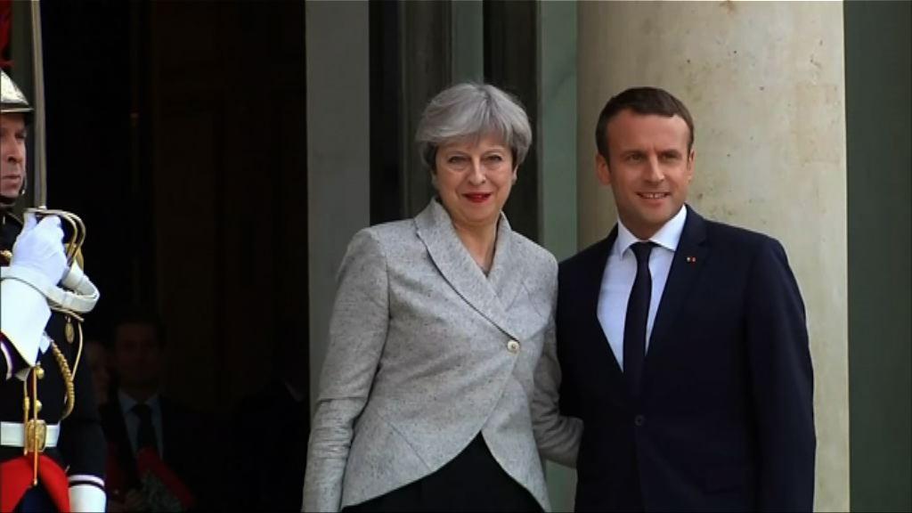法將向英借展文物 馬克龍展現圓滑外交手腕