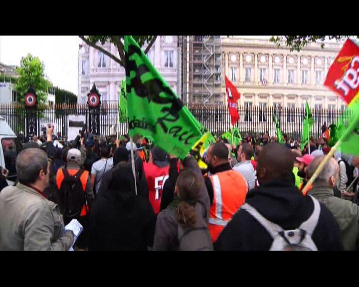 法國鐵路工人罷工持續