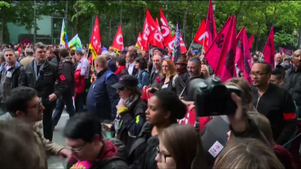 法國反勞工法改革示威持續