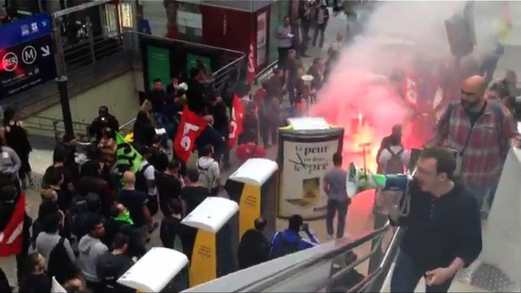 歐國盃舉行在即 法國工潮未平息