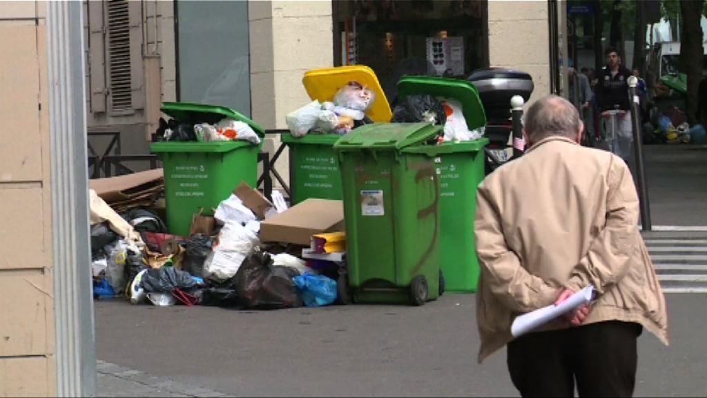 法國工人歐國盃前夕延長罷工