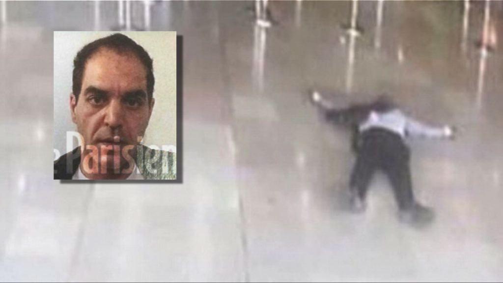 法國調查機場槍擊案疑犯是否受酒精等影響