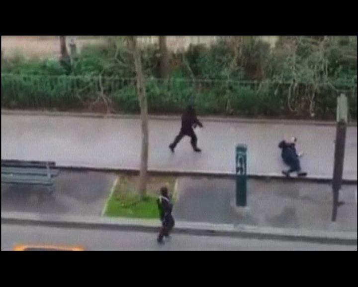 巴黎蒙面槍手襲擊雜誌社至少12死