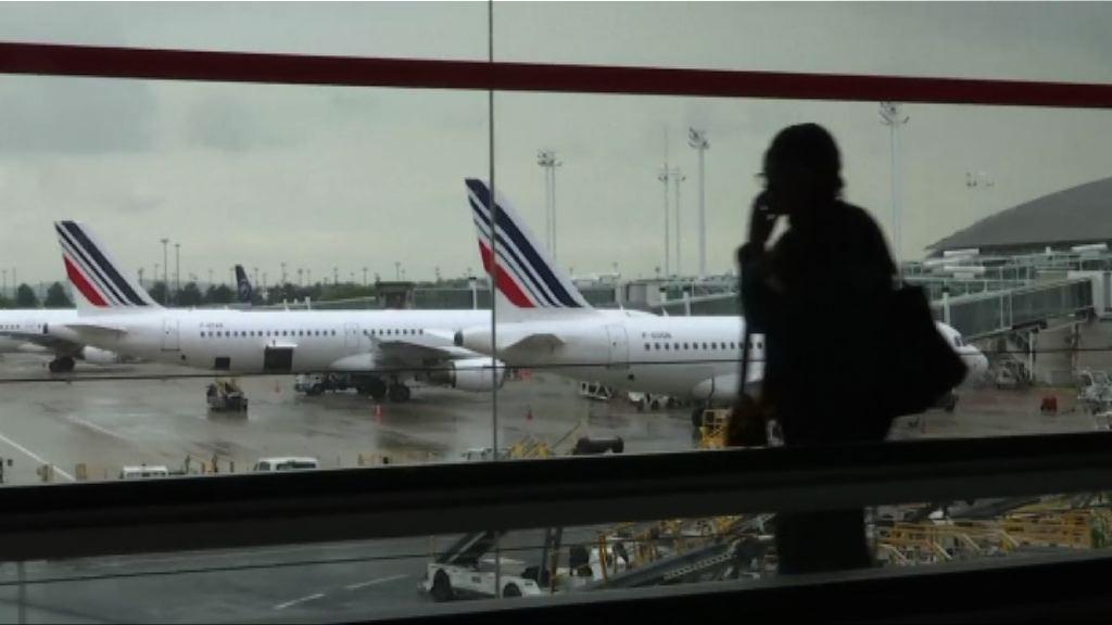 法航機師罷工 五分一航班取消