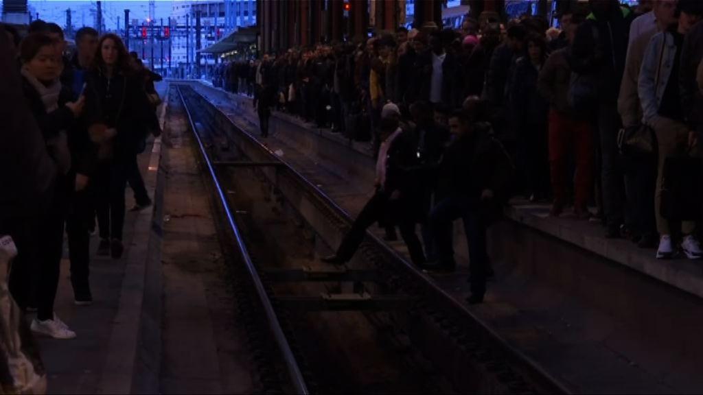法國鐵路工人大罷工 多班火車取消