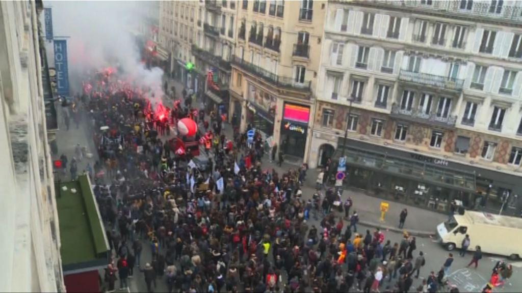 法國鐵路工人罷工 交通部長指改革事在必行