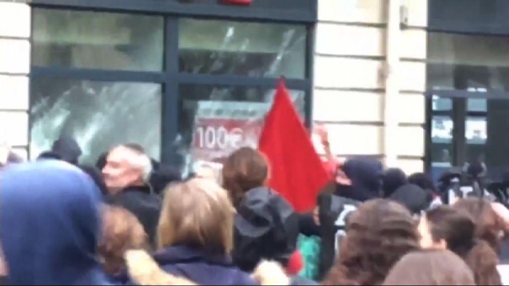 法國公務員罷工抗議總統勞工政策