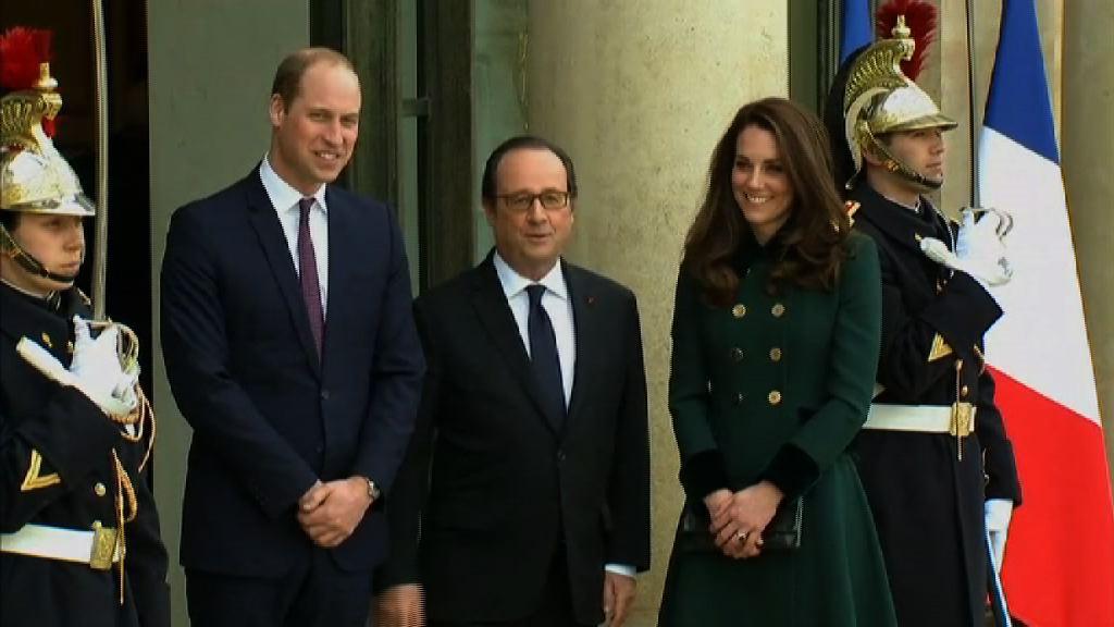 威廉強調英國脫歐不影響英法關係