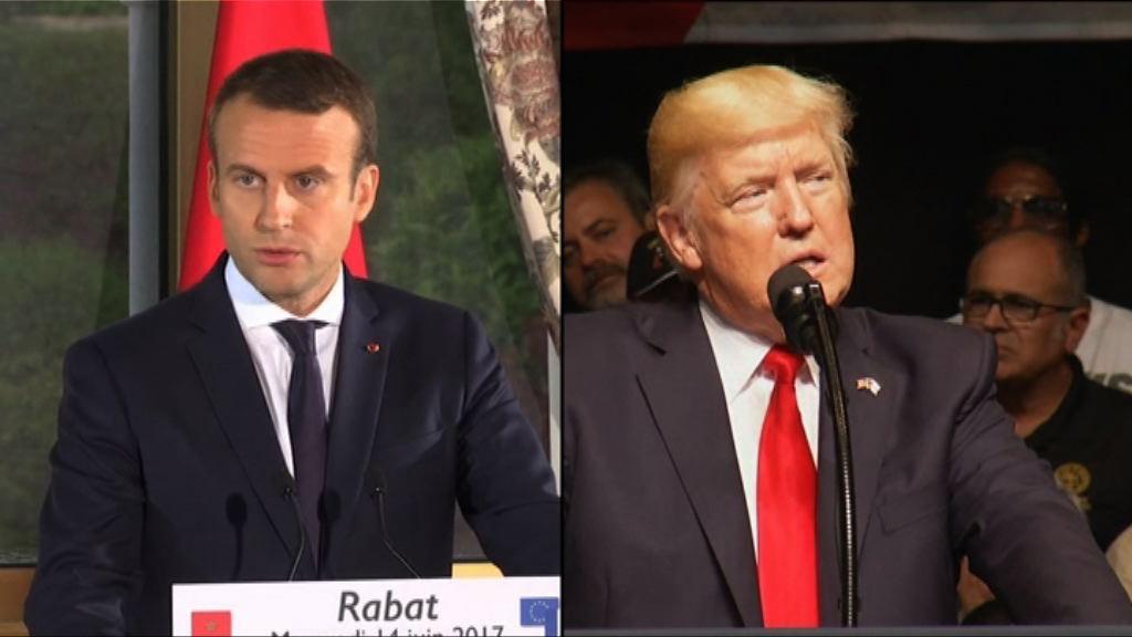 特朗普應邀七月中旬訪問法國