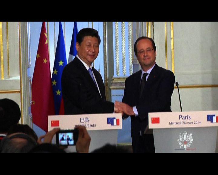 中法簽署180億歐元經貿協議