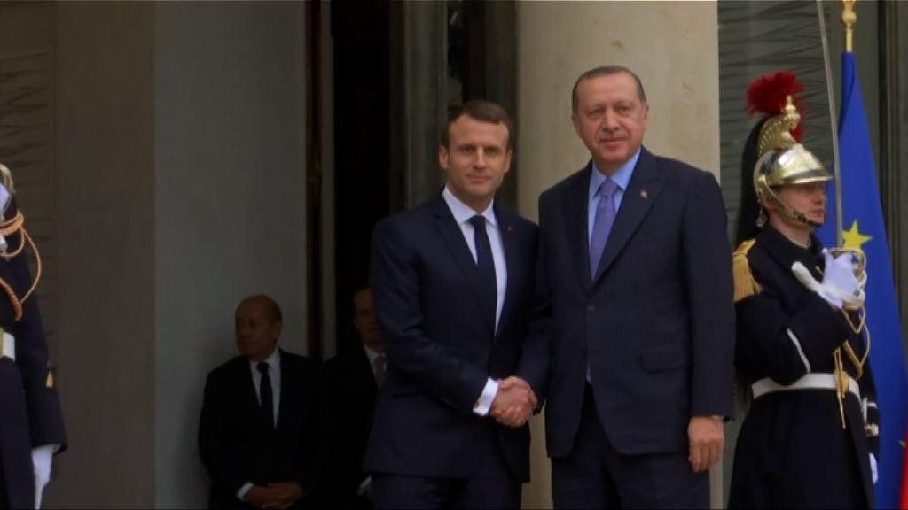 法國促請土耳其尊重法治