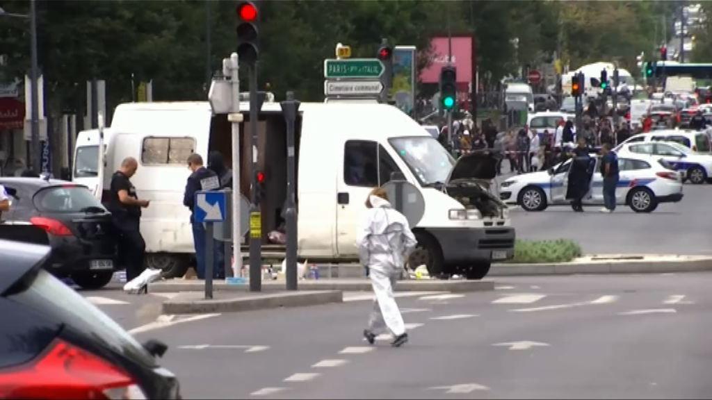 法國警方搜到爆炸物拘兩名男子