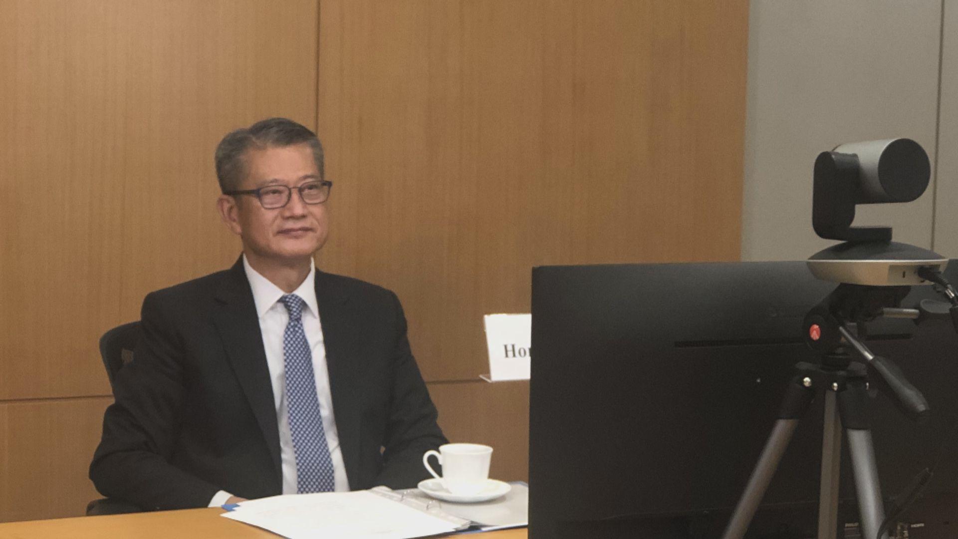 陳茂波:要避免樹立貿易或投資壁壘方能復甦經濟
