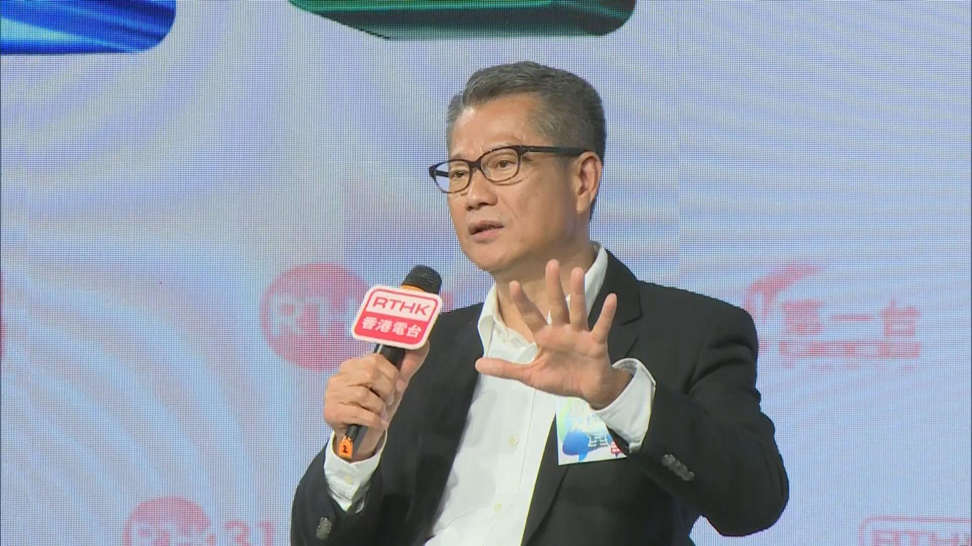 陳茂波:可研究助首期不足上車客置業