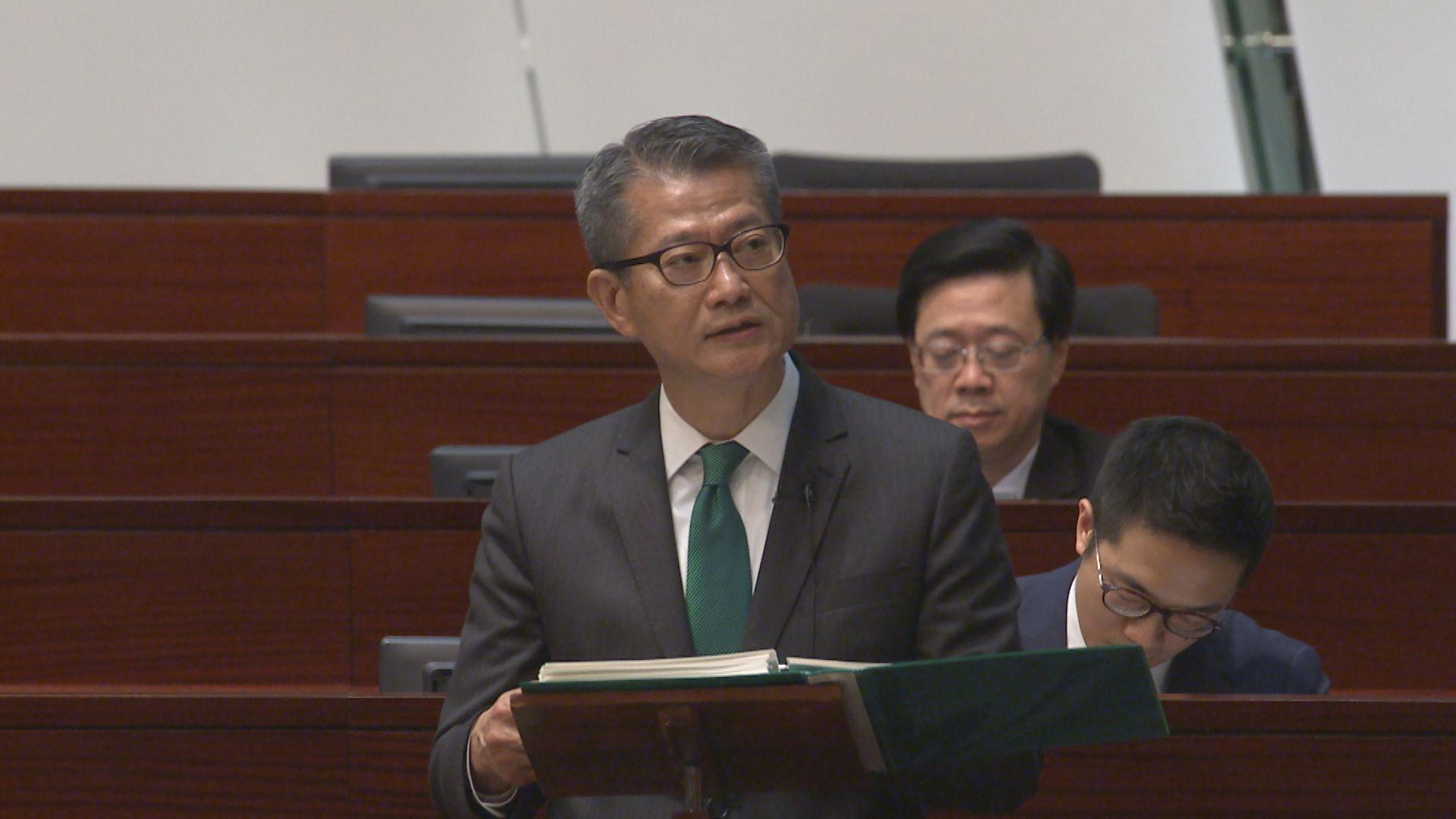 陳茂波:需梳理社會問題核心研究對策