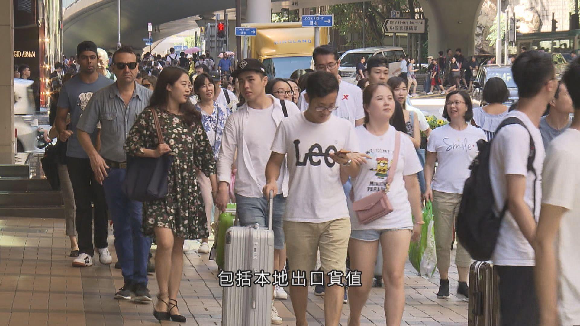 陳茂波:對短期經濟展望不樂觀