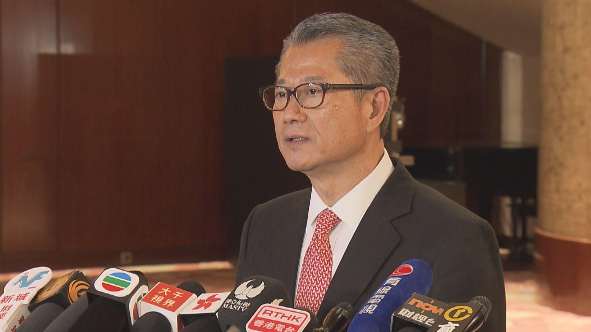 陳茂波:本年度預算赤字達2900億