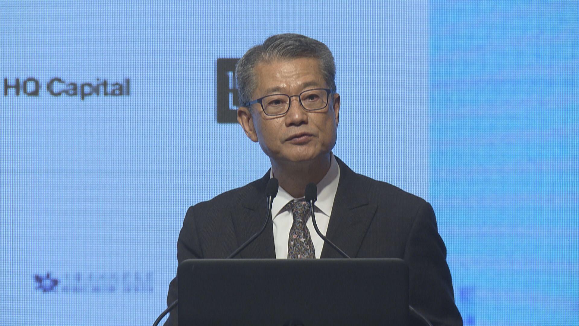 陳茂波:香港要建立疫情應變機制 必須包括大規模檢測