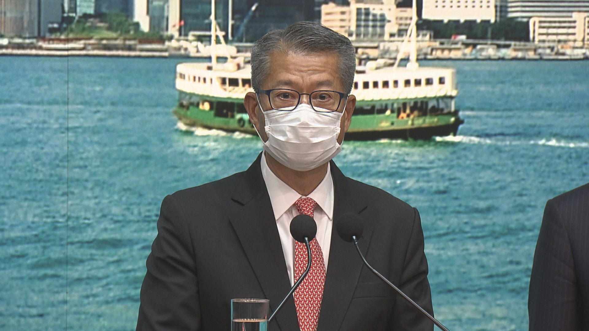 陳茂波:打擊違國安法資金活動 確保金融體系不被利用