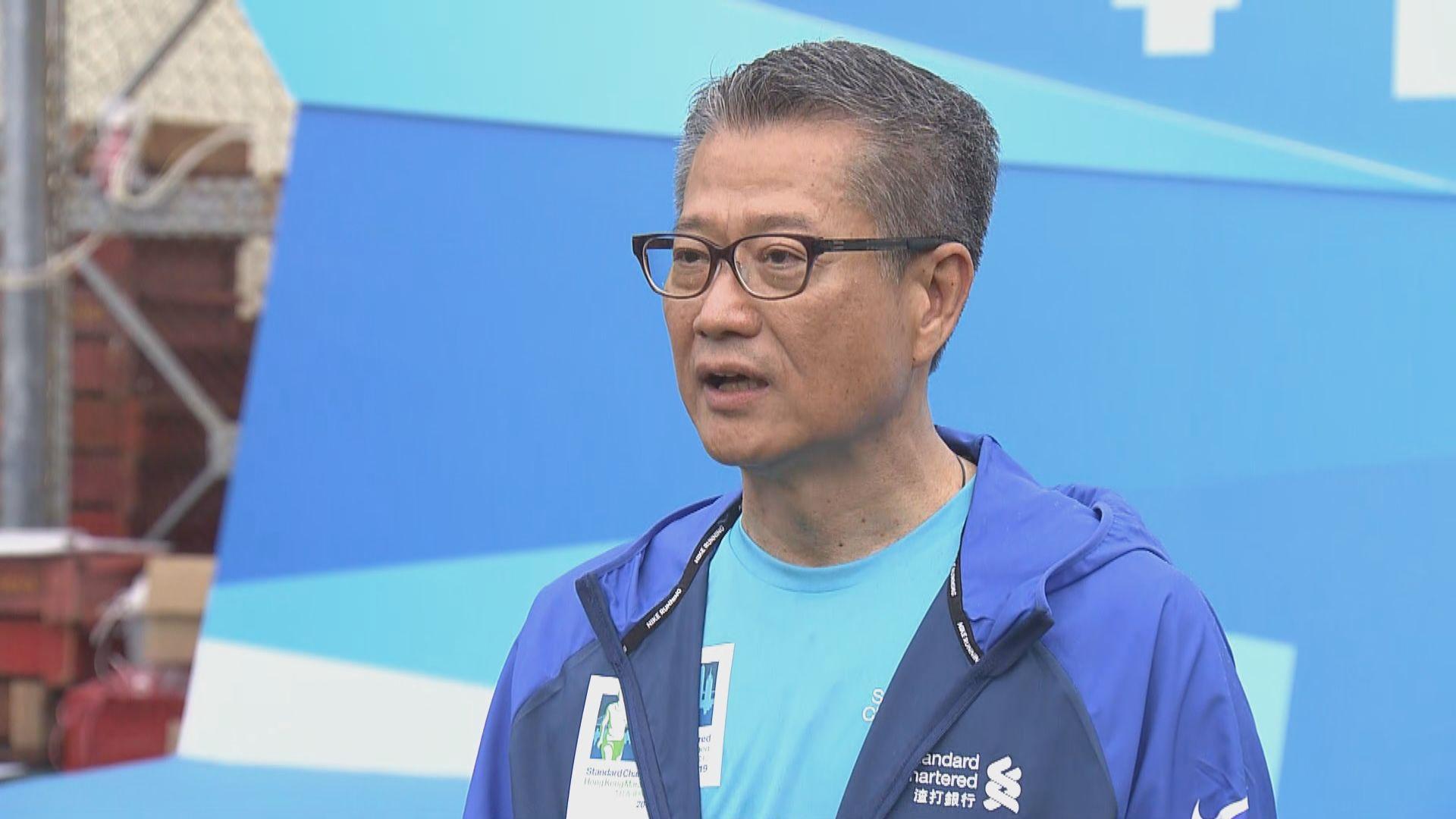 陳茂波:預算案以撐企業穩經濟及民生作主題