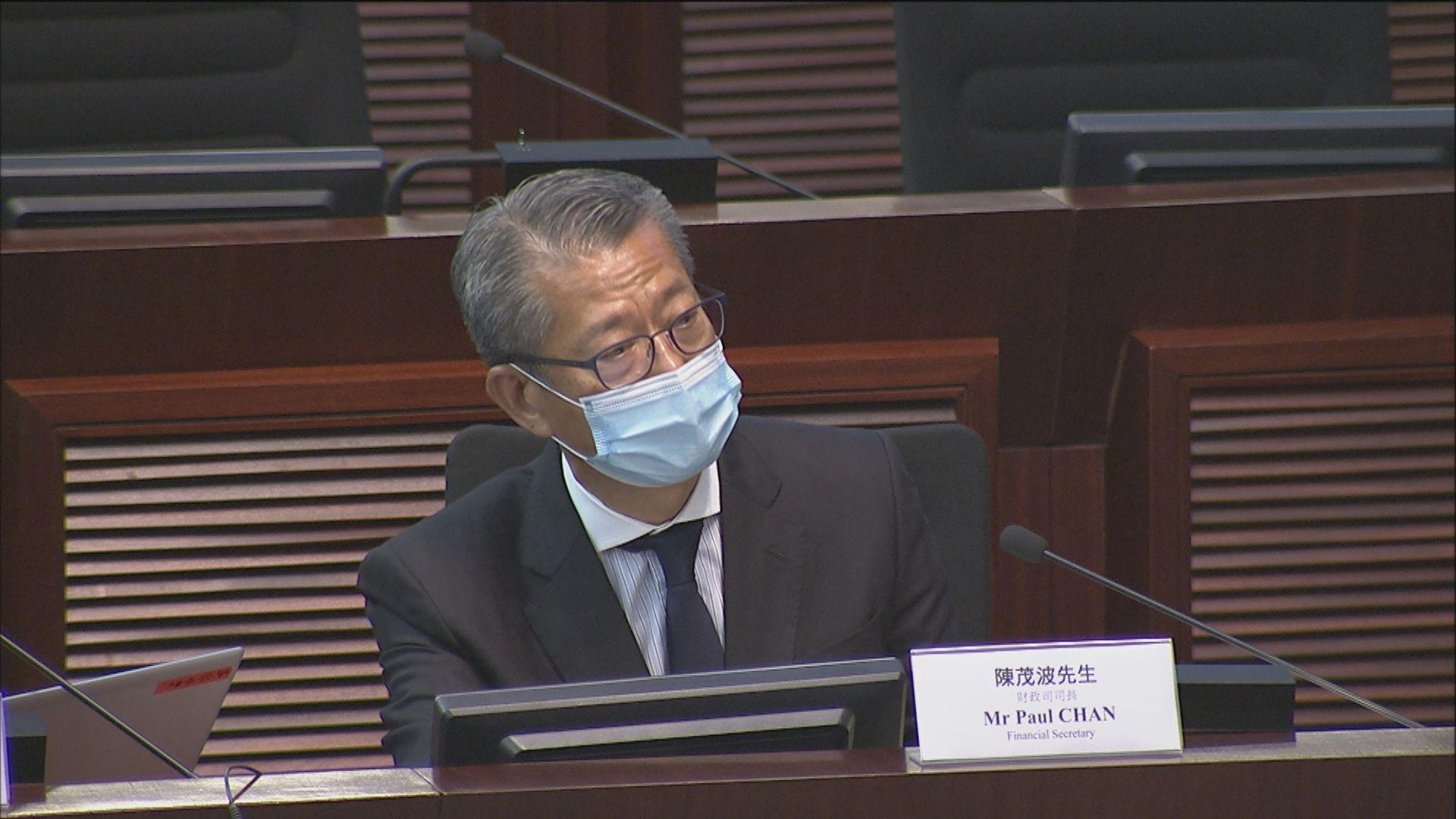 陳茂波:聯繫匯率制度不會改變