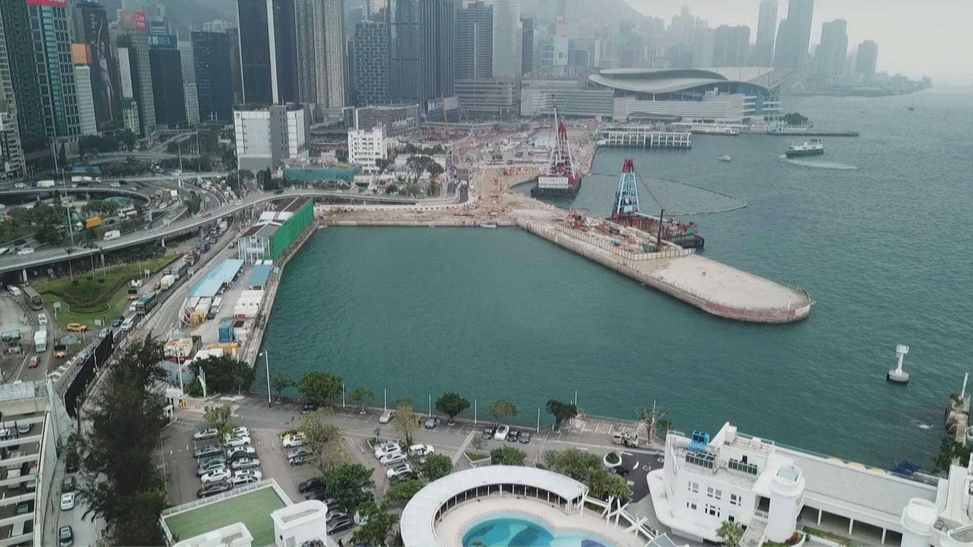 陳茂波:部分海濱長廊項目或以公私營合作發展