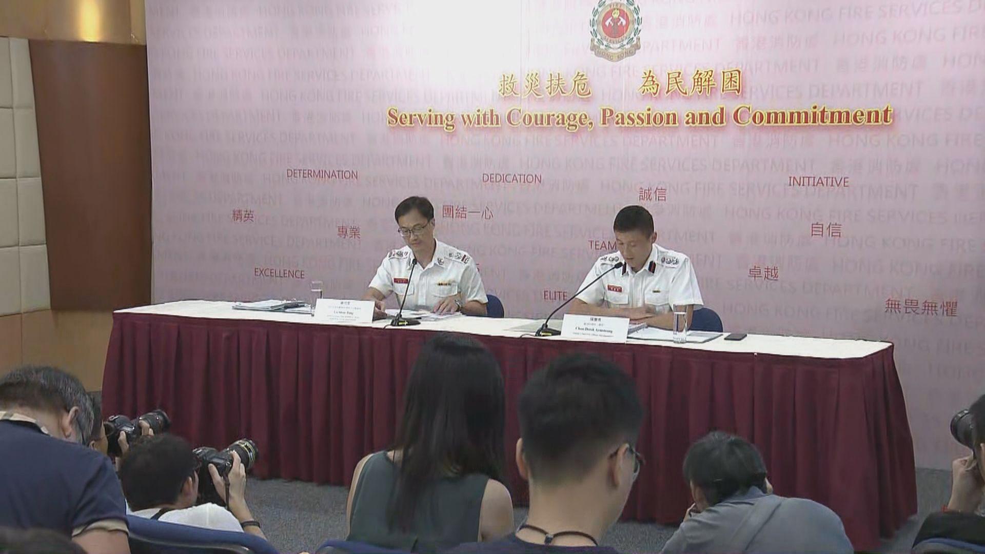 消防處紀律調查831太子站內部文件洩漏