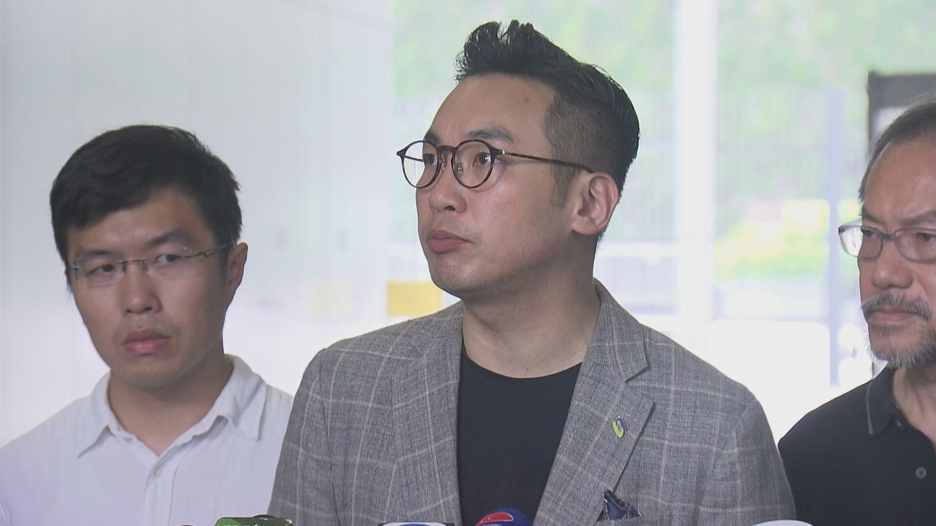 楊岳橋提域外法權私人草案 特首辦拒發許可