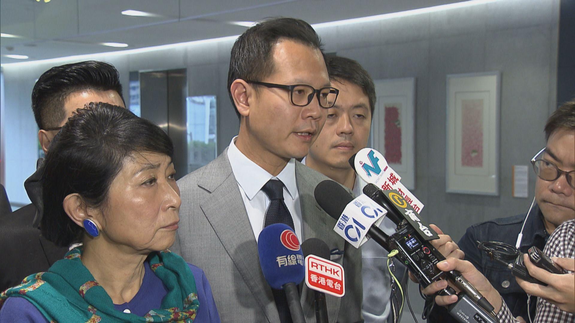民主派見陳維安不果 計劃提不信任動議