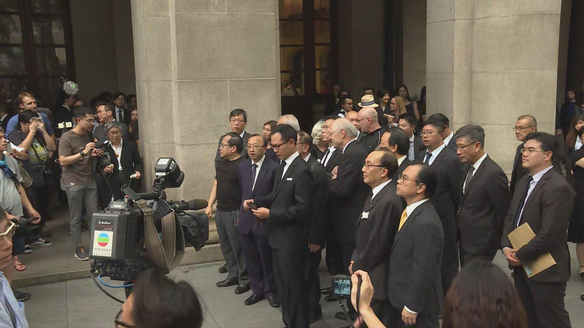 【逃犯條例】法律界靜默遊行反對修例