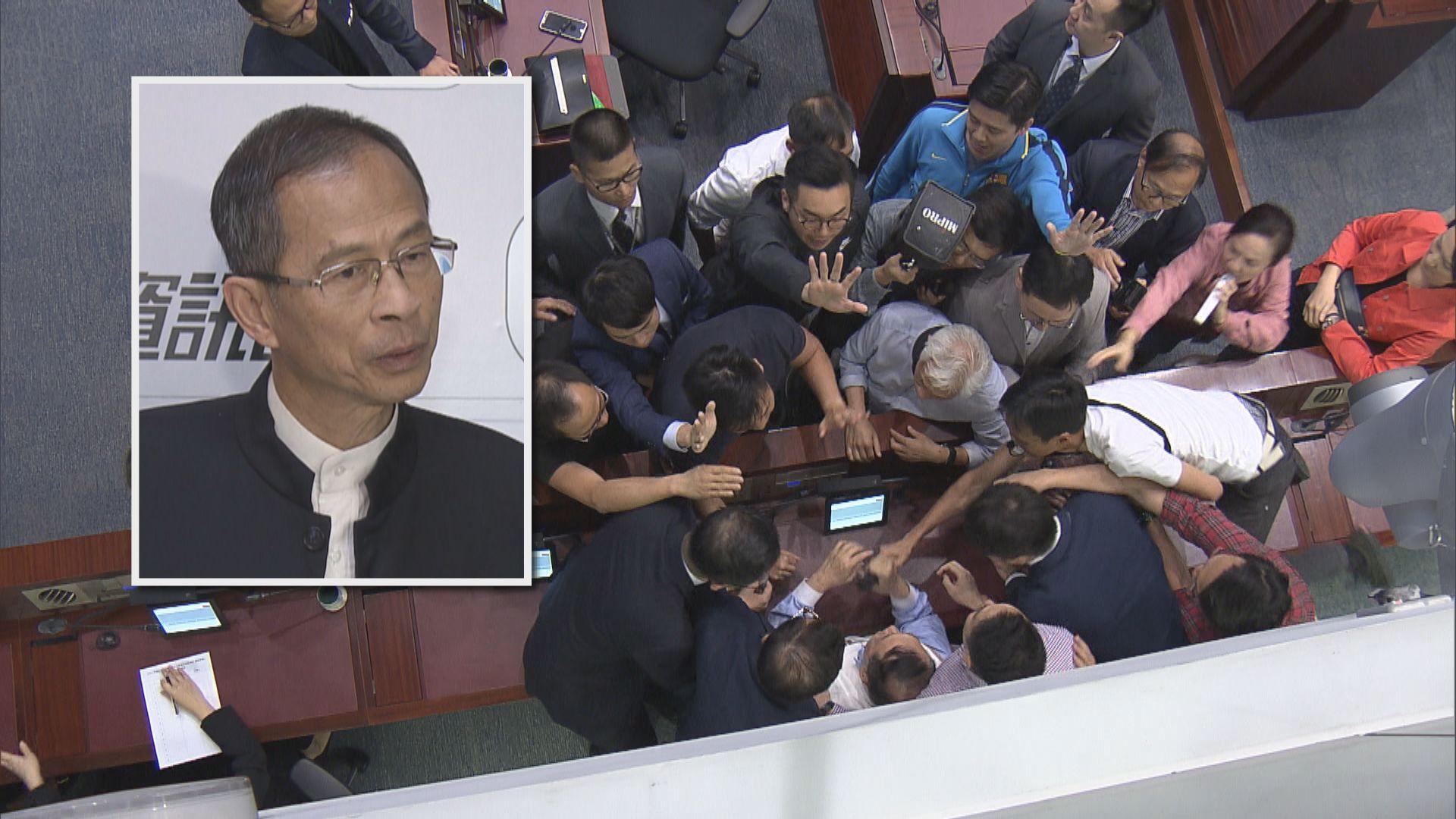 曾鈺成擔心逃犯條例修訂造成社會撕裂