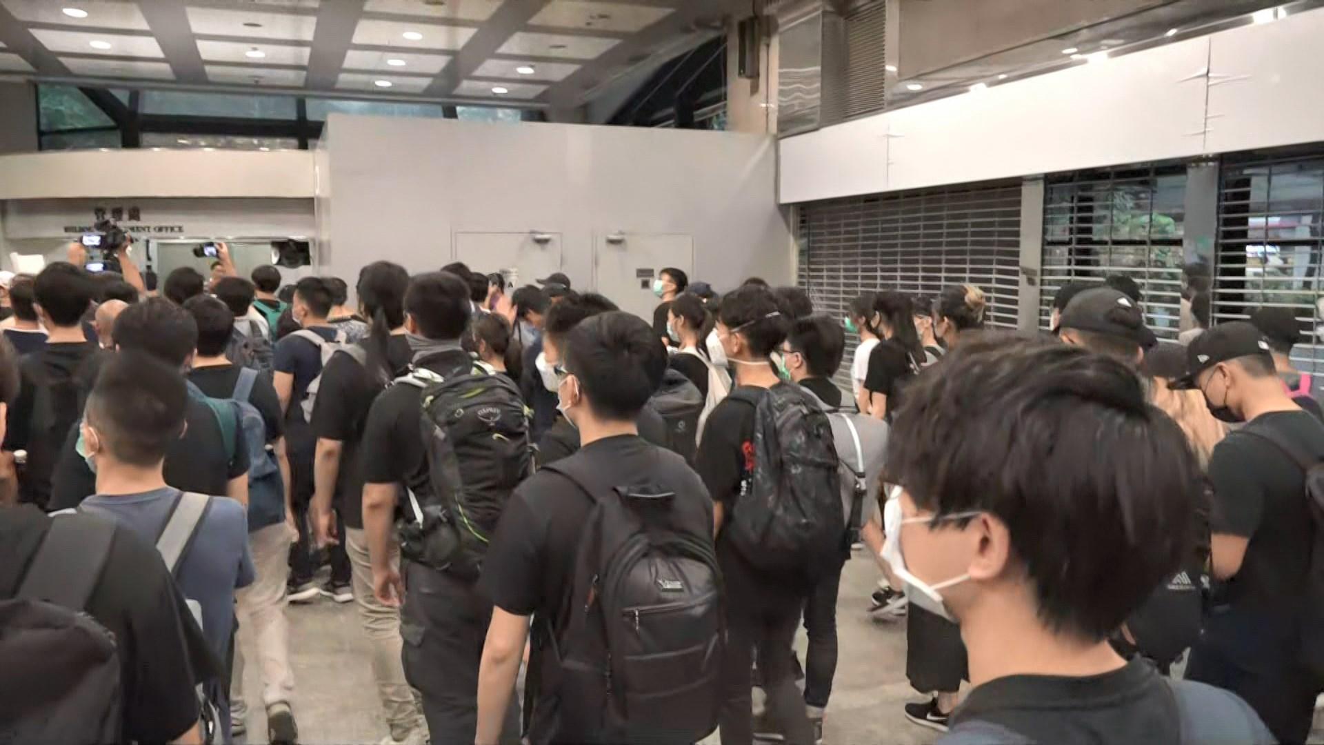 稅務大樓多個辦公室未有因示威提早下班