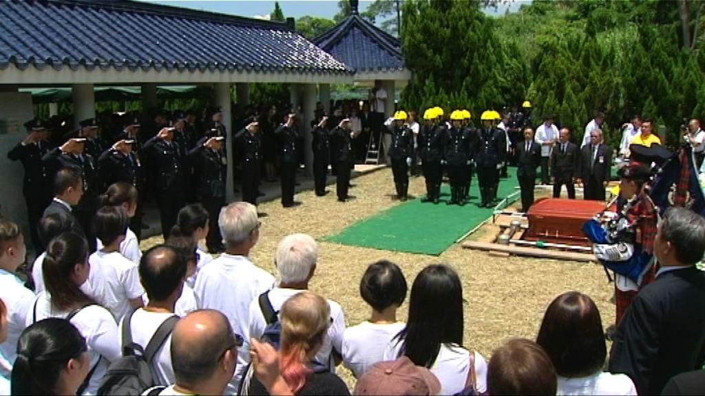 迷你倉大火殉職消防隊目許志傑安葬浩園