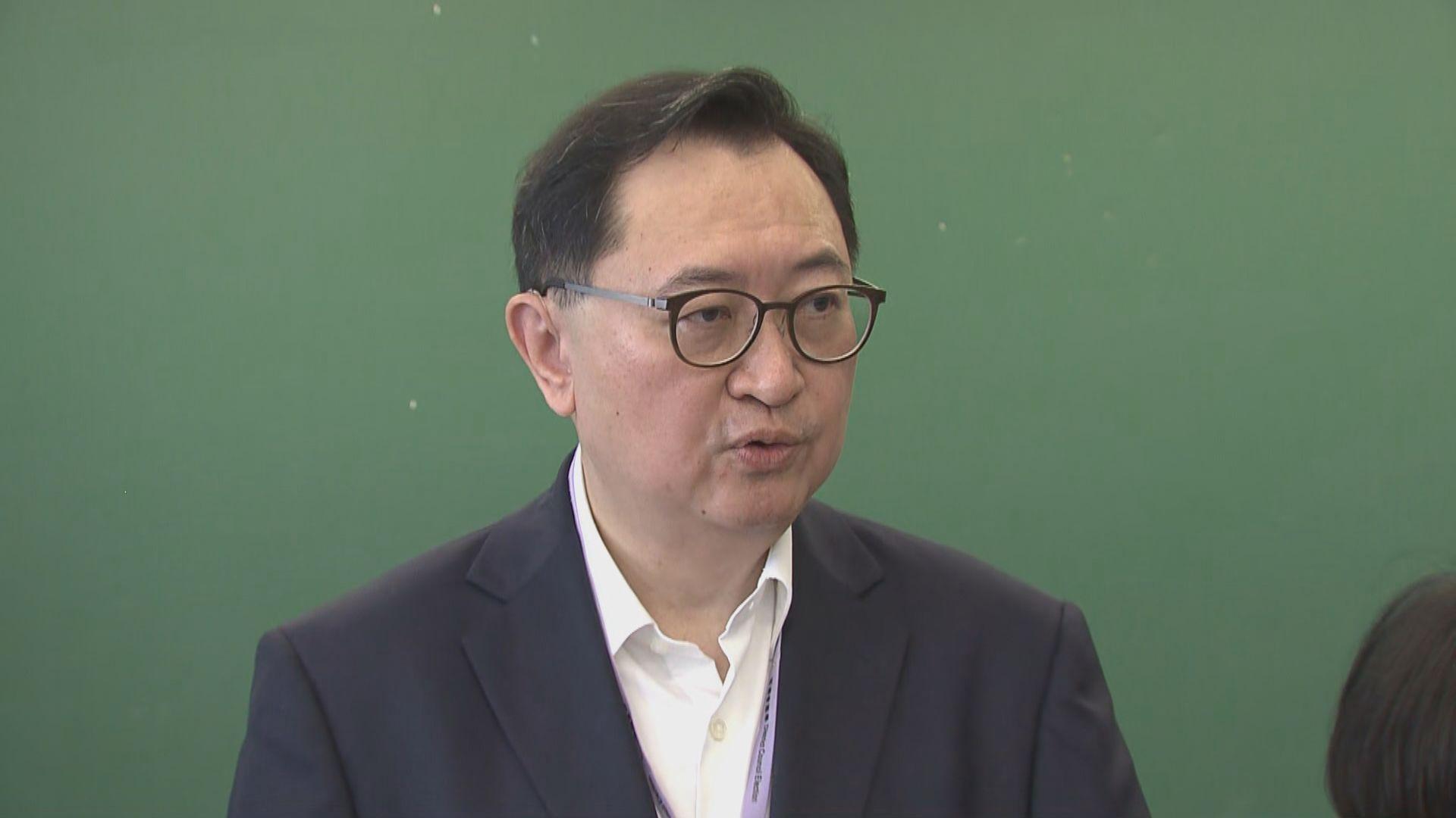 馮驊:區議會候選人簽確認書與否屬自願