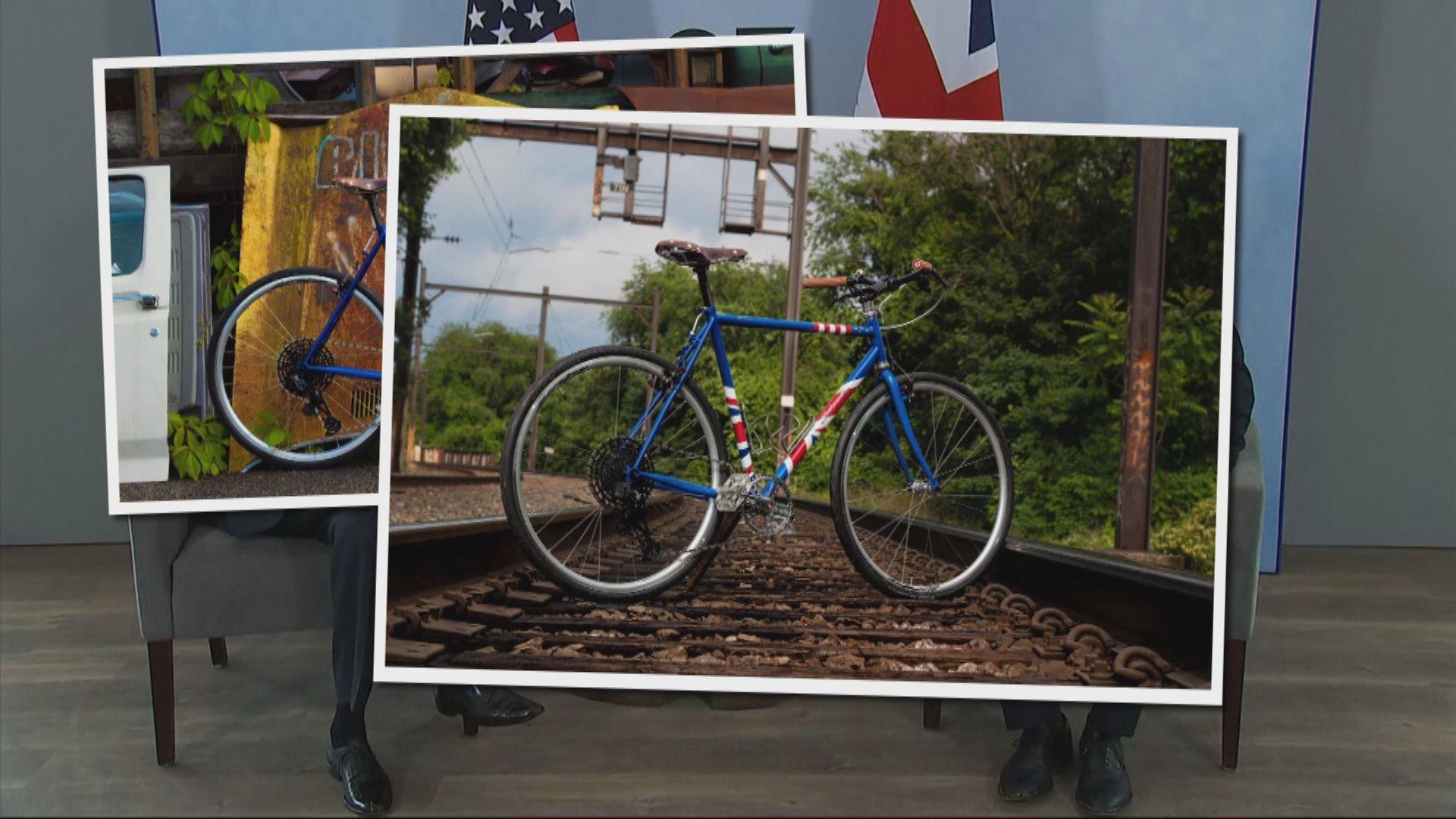 拜登贈約翰遜美製單車