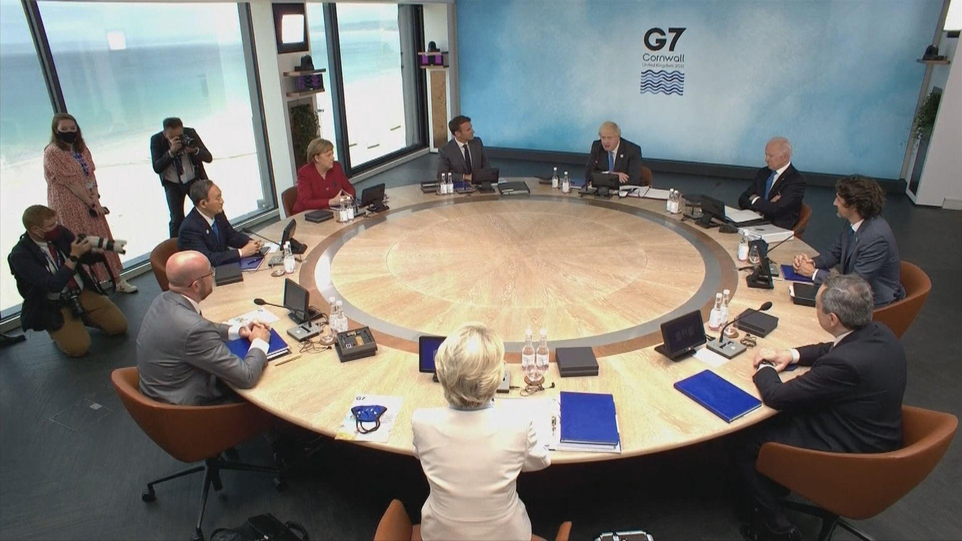 據報七國領袖同意續以財政刺激手段支持經濟發展