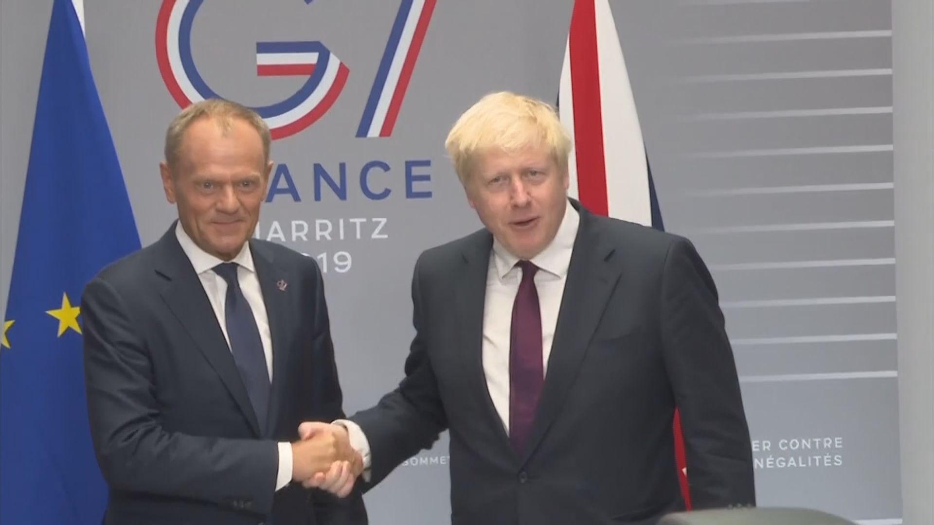 英揆和歐盟高層尋求建立脫歐共同基礎
